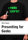 [Cover: Presenting for Geeks]